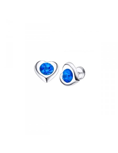 Earrings Corazón Azul